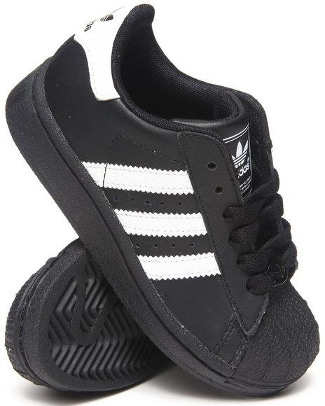 Adidas - Boys Black Superstar 2 C Sneakers