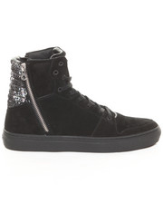Shoes - Adonis Snake Embossed DBL Zip Hi