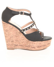 Shoes - Cage Wedge w / Stud Detail