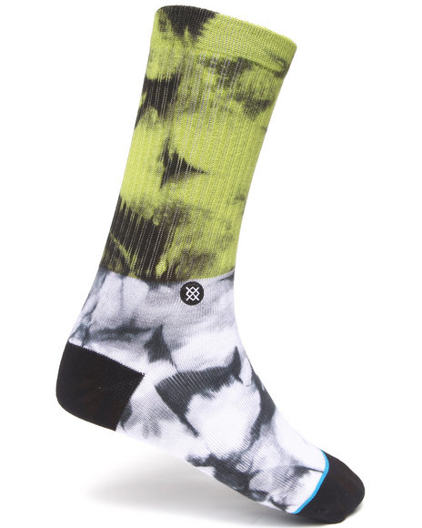 Stance Socks Men Grady Socks Green Large/X-Large