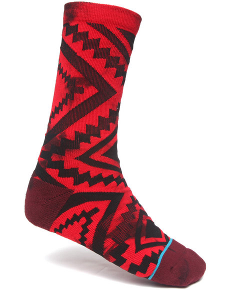 Stance Socks Sutter Socks Red Large/X-Large