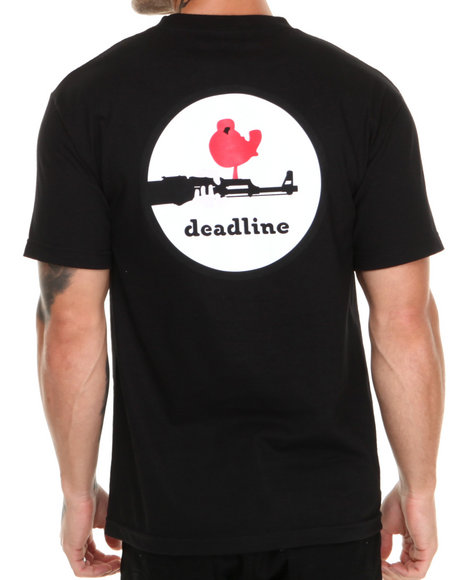 Deadline Black Woodstock Tee