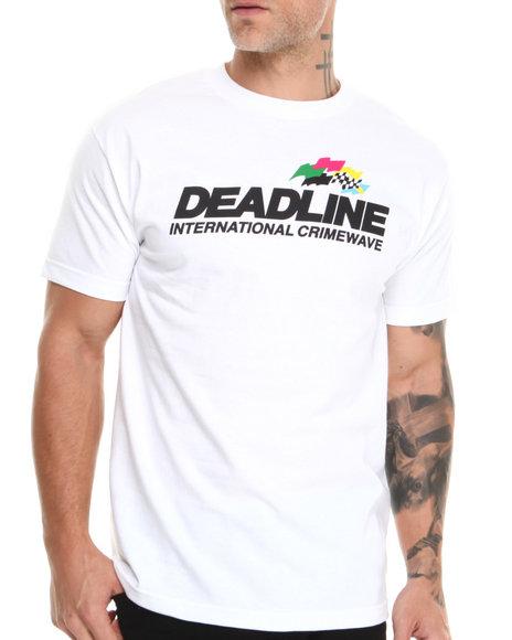 Deadline White Crimewave Tee