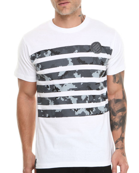 Enyce - Men White Platoon T-Shirt