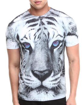 Basic Essentials - White Tiger Sublimation Tee