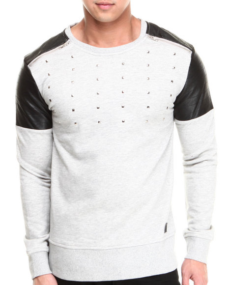 Black Kaviar Grey Gareth Sweatshirt
