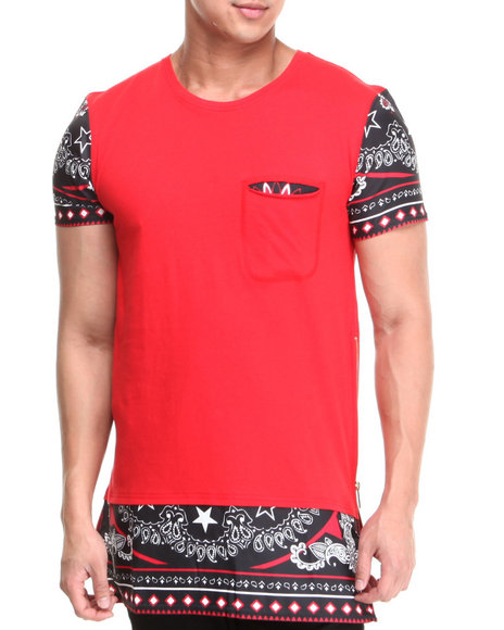 Black Kaviar Red Gadji Sublimation Tee