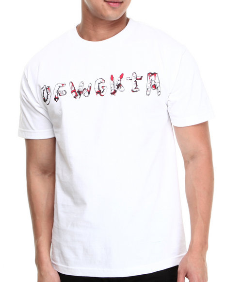 Odd Future Apparel White Fingers Tee