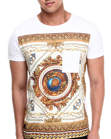Black Kaviar White Garoust Sublimation Tee