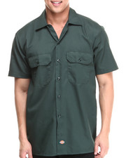 Men - Dickies Short Sleeve Button-Down
