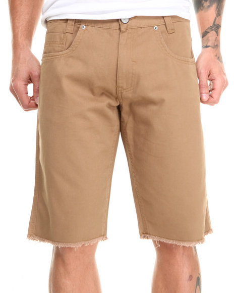 Enyce Khaki Valentino Denim Short