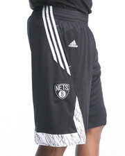 Adidas - Brooklyn Nets Pre-Game Shorts