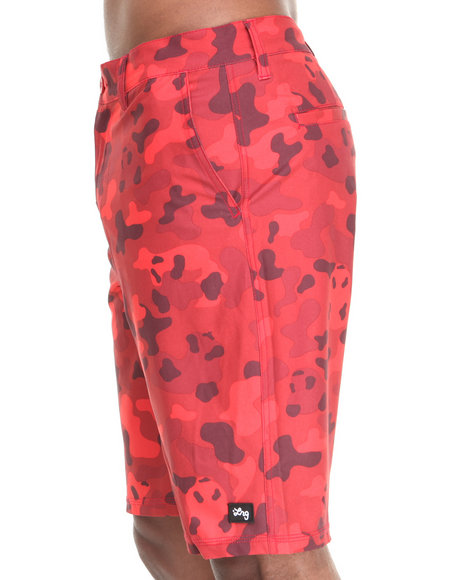 LRG - Men Red Core Collection Boardwalk Shorts