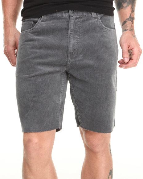 Brixton Grey Reserve Twill Shorts