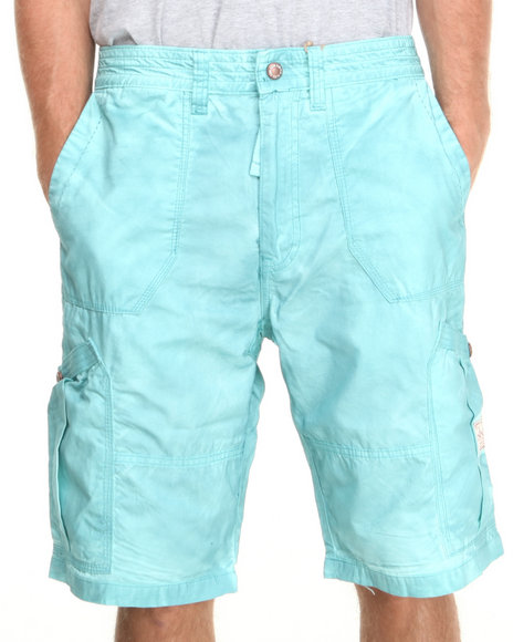 Akoo - Men Light Blue Breakin' Shorts