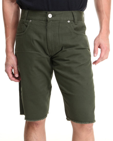 Enyce - Men Green Valentino Denim Short