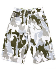 Bottoms - CAMO SHORTS (8-20)