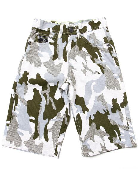 Akademiks - Boys Camo Camo Shorts (8-20)