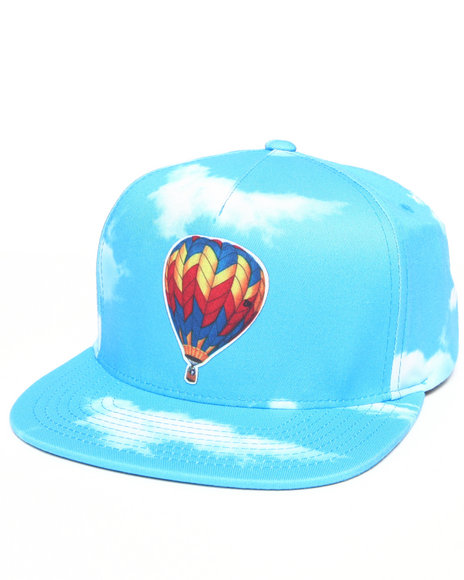 Odd Future Apparel Balloon Kitty Snapback Hat Blue
