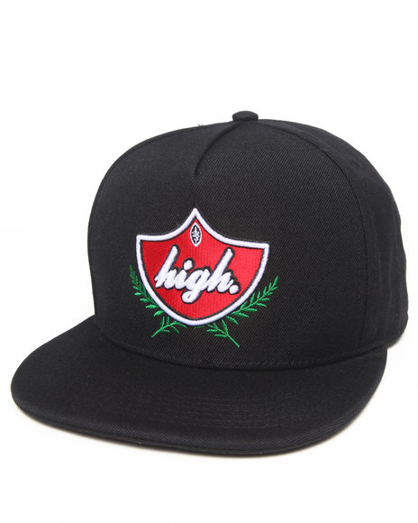 Odd Future Apparel Domo High Snapback Hat Black