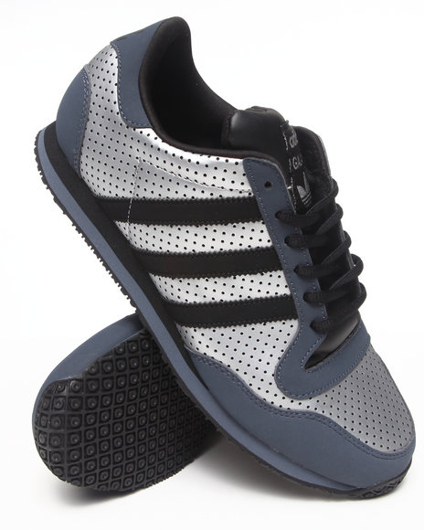 Adidas Silver,Black Galaxy Sneakers