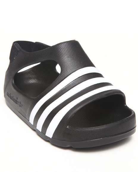 Adidas - Boys Black Adilette Play Sandals