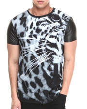 Shirts - Gedeon Sublimation PU Detail Tee