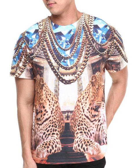 Basic Essentials - Men Multi Diamon Cheetah Sublimation Tee