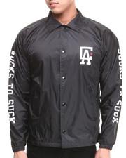 Light Jackets - C L A Coaches Jacket