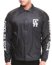 Men - C L A Coaches Jacket
