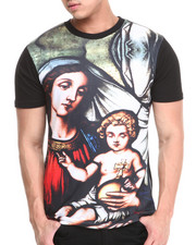 T-Shirts - Mary & Jesus Sublimation Tee