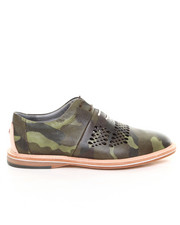 DJP OUTLET - Mercer Camo Cut Out Detail Shoe