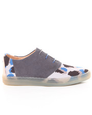 Shoes - Davis Gray Leopard Sneaker