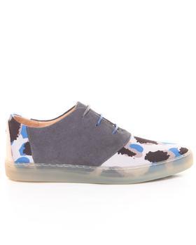 Men - Davis Gray Leopard Sneaker