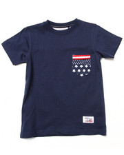 Parish - PRINTED POCKET TEE (4-7)