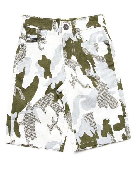 Akademiks - Boys Camo Camo Shorts (4-7)