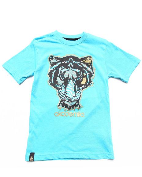 Akademiks Boys Blue Tiger Tee (8-20)