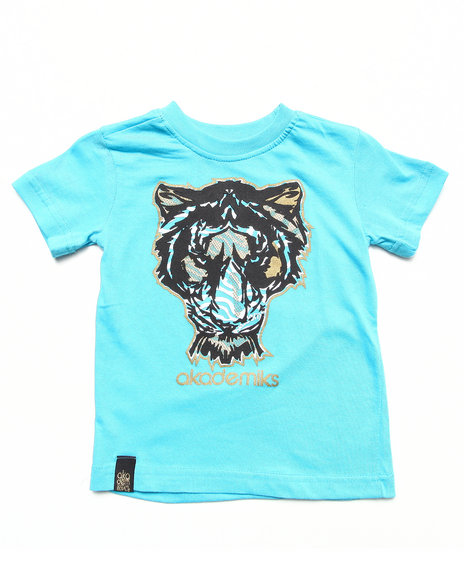 Akademiks - Boys Blue Tiger Tee (2T-4T)