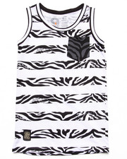 Tanks - ANIMAL STRIPE TANK (8-20)