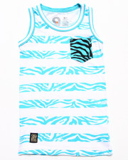Boys - ANIMAL STRIPE TANK (8-20)
