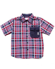 Sizes 4-7x - Kids - PLAID WOVEN (4-7)