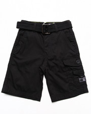 Bottoms - BELTED CARGO SHORTS (4-7)