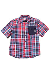 Sizes 8-20 - Big Kids - PLAID WOVEN (8-20)