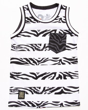 Akademiks - ANIMAL STRIPE TANK (4-7)