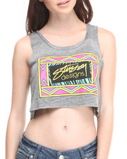 Women - Designs Box Crop Top