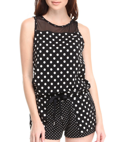 Adidas Black Dots All In One Jumpsuit