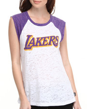 NBA MLB NFL Gear - Los Angeles Lakers Old School Tee
