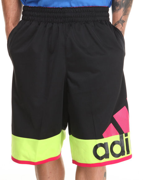 Adidas Black Crazy Fresh Basketball Shorts