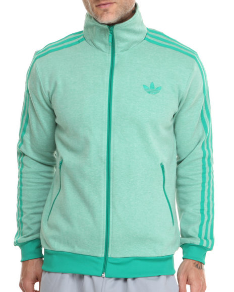 Adidas - Men Green Originals Firebird Track Jacket - $48.99