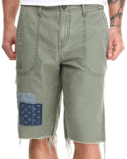 True Religion - Military Patch Detail Shorts